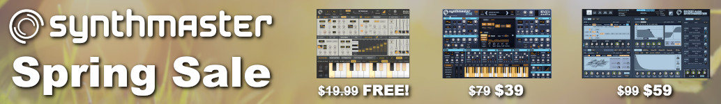 SynthMaster Spring Sale