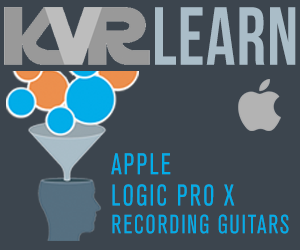 KVR LEARN - Apple Logic Pro X - Recording Guitars