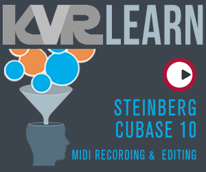 KVR LEARN - Steinberg Cubase 10 - MIDI Recording & Editing