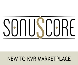 New To KVR Marketplace - SonuScore
