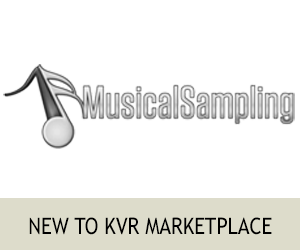 New To KVR Marketplace - Musical Sampling