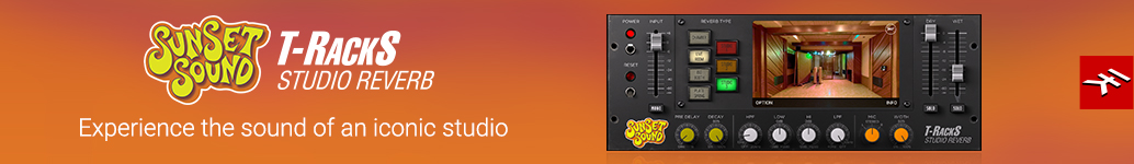 T-RackS Sunset Sound Studio Reverb: Experience the sound of an iconic studio