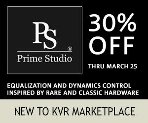 NEW TO KVR MARKETPLACE - PRIME STUDIO