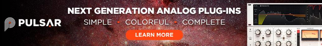 Pulsar Audio - Next Generation Analogue Plugins