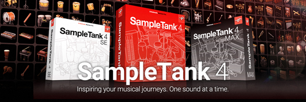 SampleTank 4 special pre-order pricing