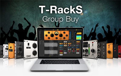 T-RackS Group Buy! Up to 5 free mixing and mastering processors!