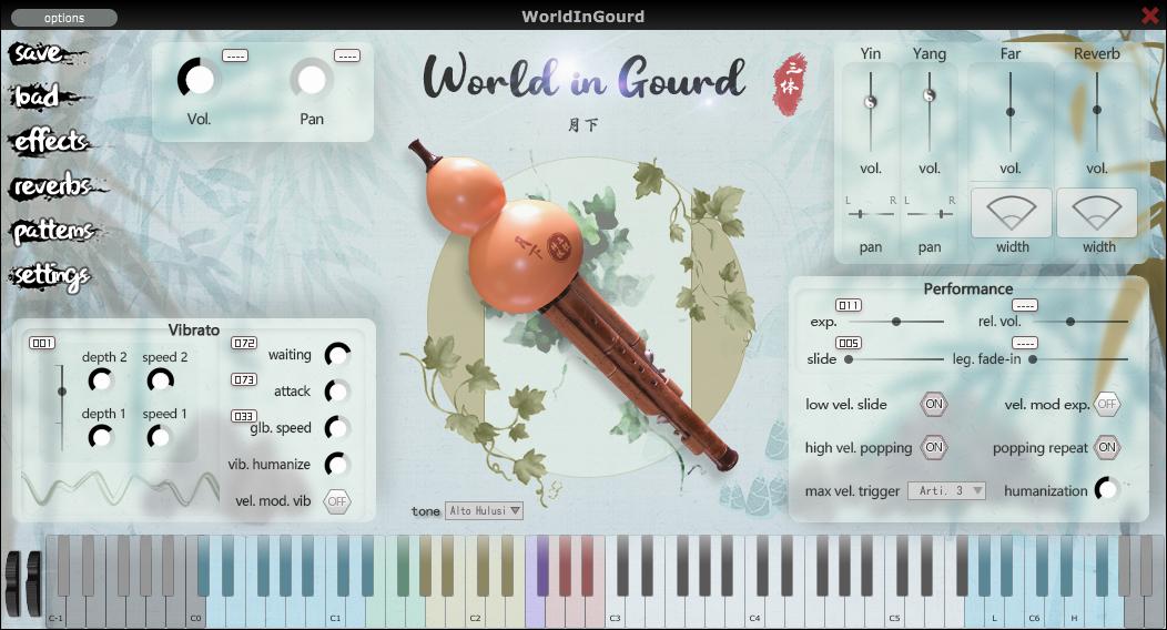 World in Gourd