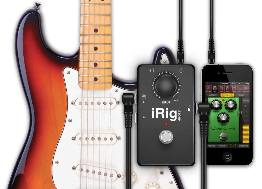 kvr irig stomp by ik multimedia stompbox guitar interface. Black Bedroom Furniture Sets. Home Design Ideas