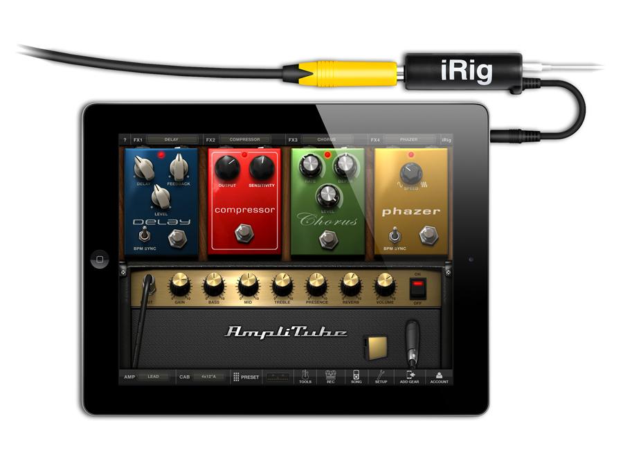 kvr irig by ik multimedia guitar interface adapter. Black Bedroom Furniture Sets. Home Design Ideas