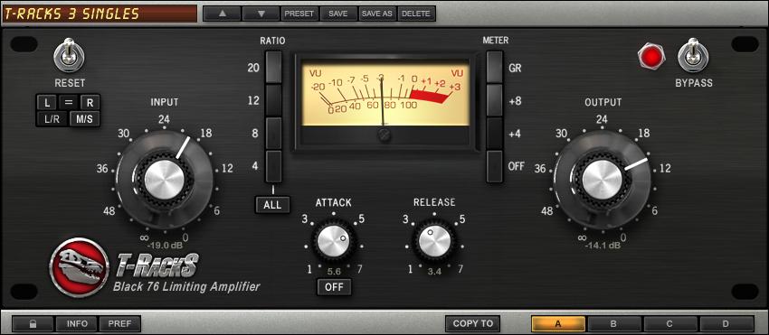 Black 76 Limiting Amplifier