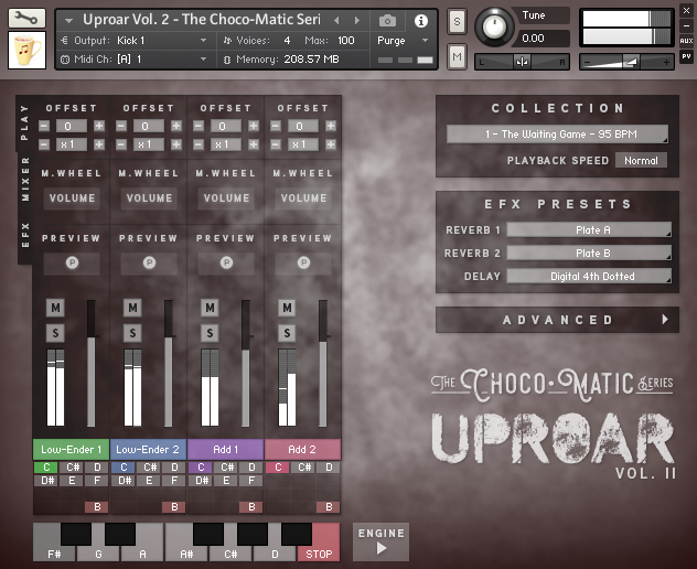 Uproar for Kontakt Bundle