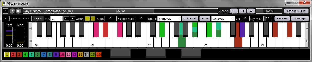 KVR: VirtualKeyboard by 4drX - Virtual Keyboard VST Plugin, Audio