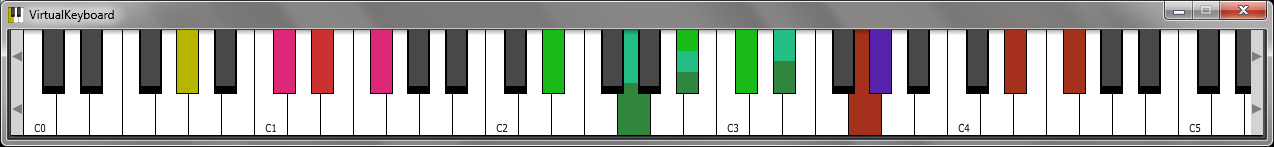 KVR: VirtualKeyboard by 4drX - Virtual Keyboard VST Plugin