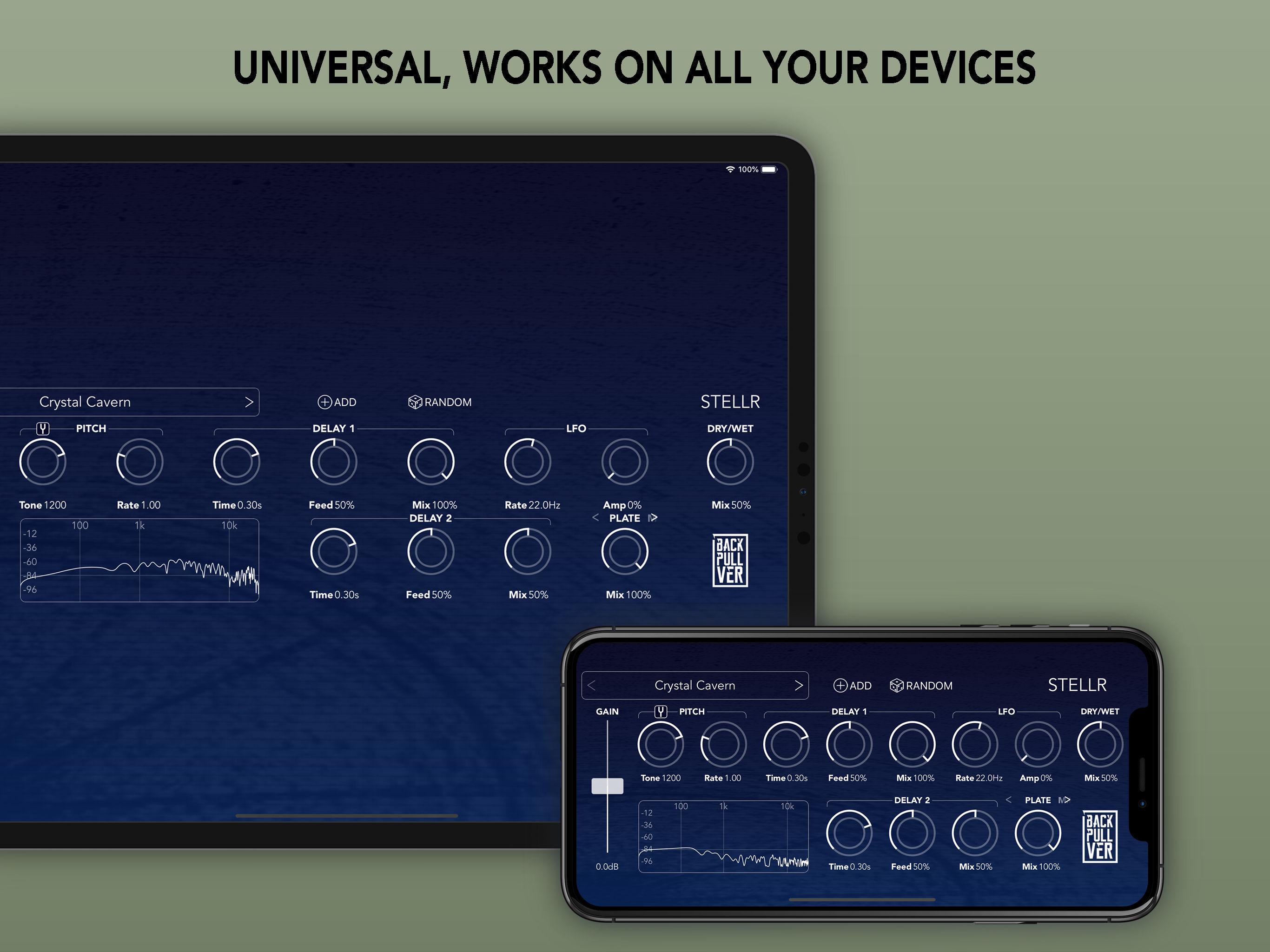 KVR: Stellr by Backpullver Software - Shimmer Audio Units