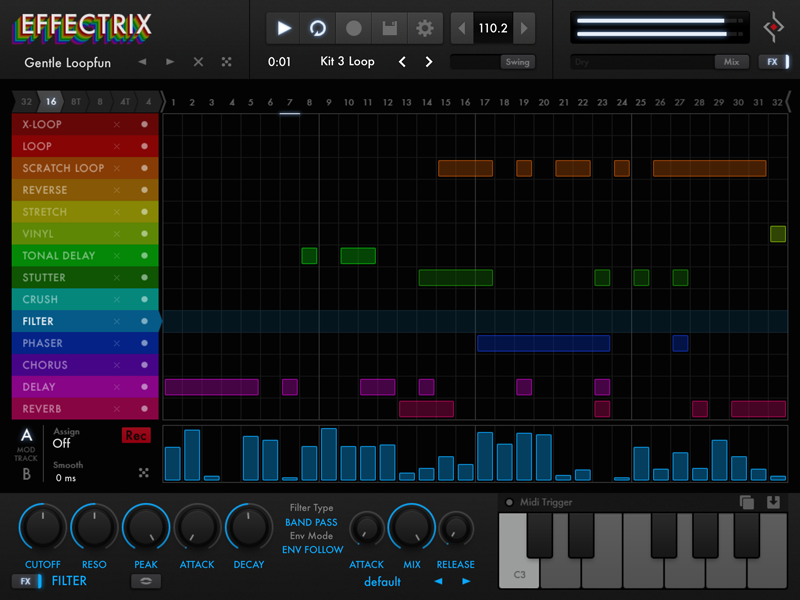 Effectrix iPad Edition