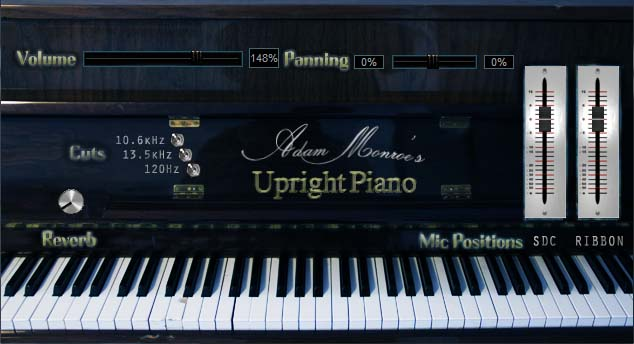 KVR: Adam Monroe Music releases Adam Monroe's Upright Piano for