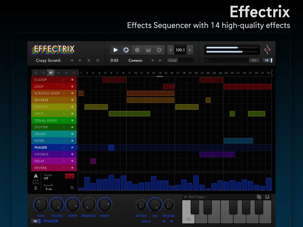 Effectrix iPad Edition