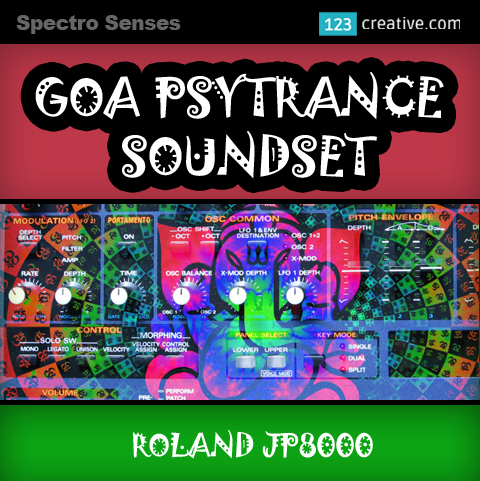 Roland JP-8080 - Goa Psytrance soundset for Roland JP8000 series hardware synths