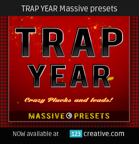 Trap Year Massive presets - 123creative.com