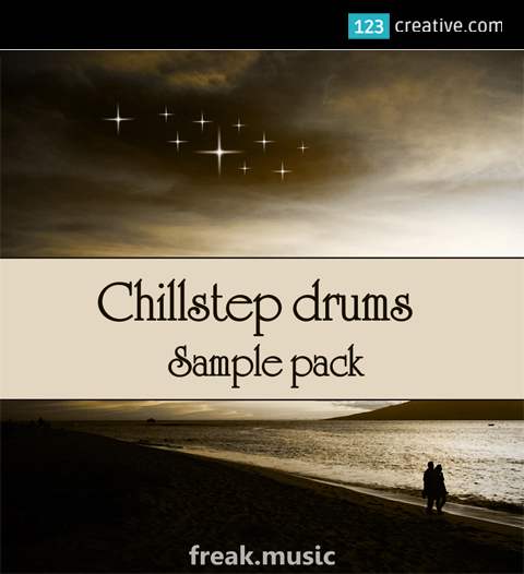 Chillstep drums sample pack