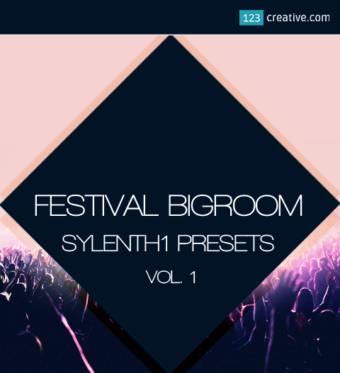 Festival bigroom house Sylenth1 presets Vol.1