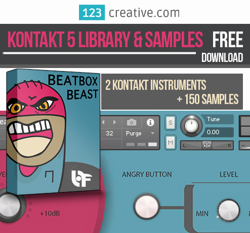 KVR: FREE Kontakt 5 Library & Samples BeatBox Beast by