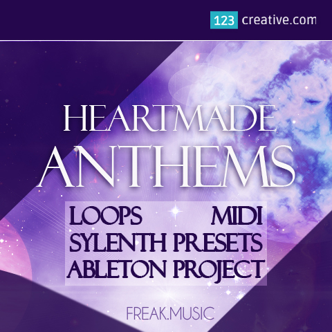 Heartmade Anthems construction kit (loops, midi, Sylenth presets, Ableton project)