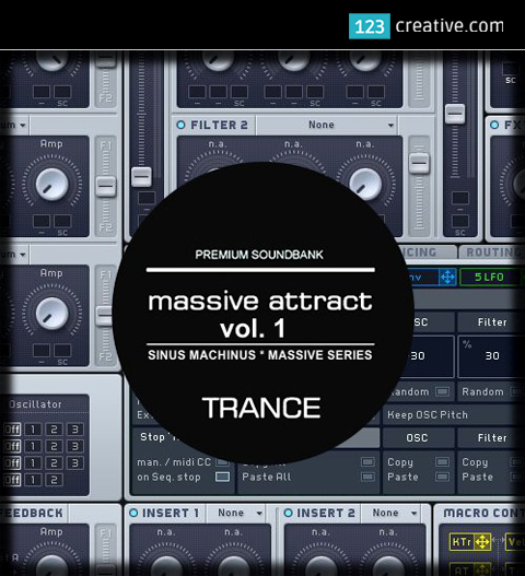 Massive Attract Vol. 1 - Epic sound bank for NI Massive