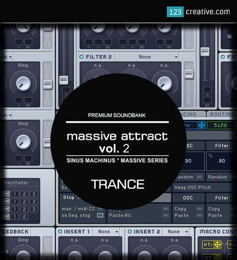 Massive Attract vol. 2 - trance presets for NI Massive