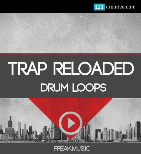 KVR: Trap Reloaded - drum loops by 123creative com - Trap