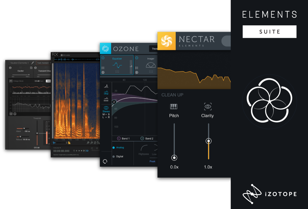 KVR: Elements Suite 4 by iZotope, Inc  - Audio Editor and