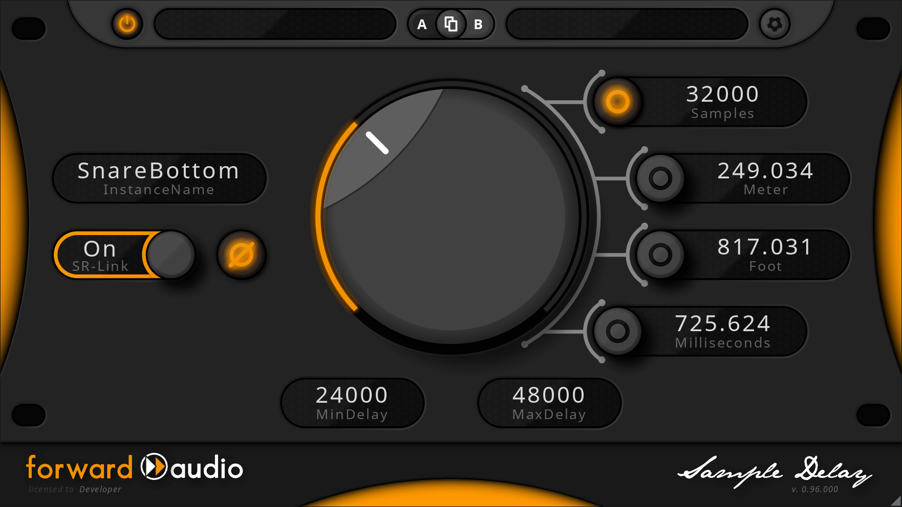 KVR: forward audio updates free faSampleDelay Plug-in to v1 00 4