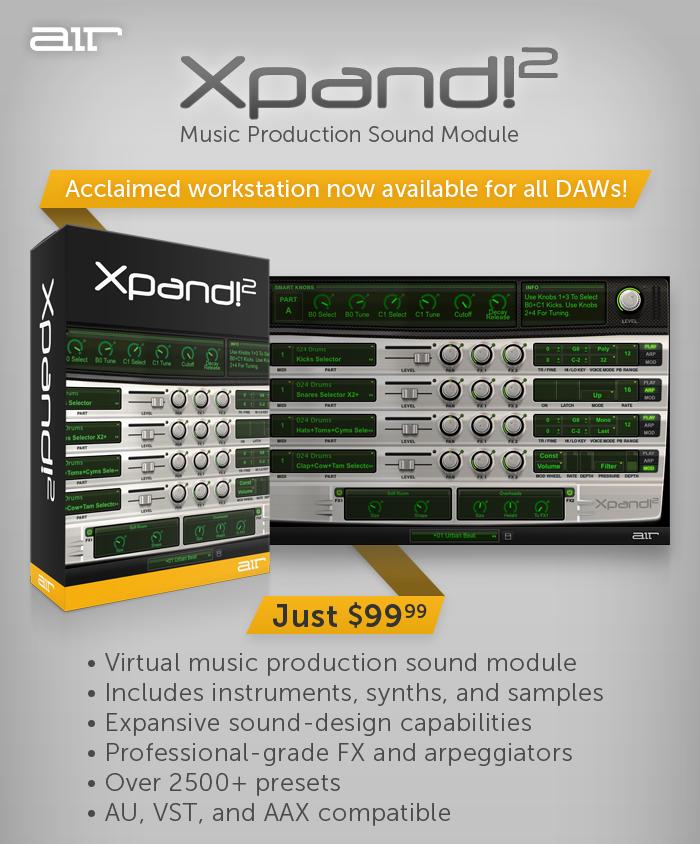 Xpand 2 plugin | Alesis V Mini  2019-06-02