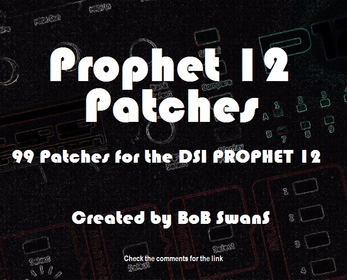 Prophet 12 Patch Collection