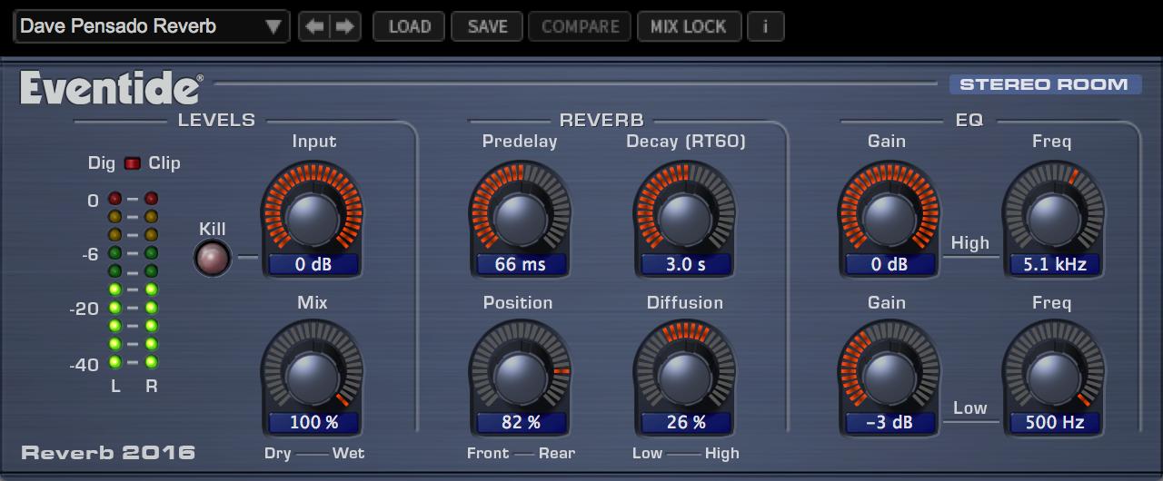 Reverb 2016 Stereo Room