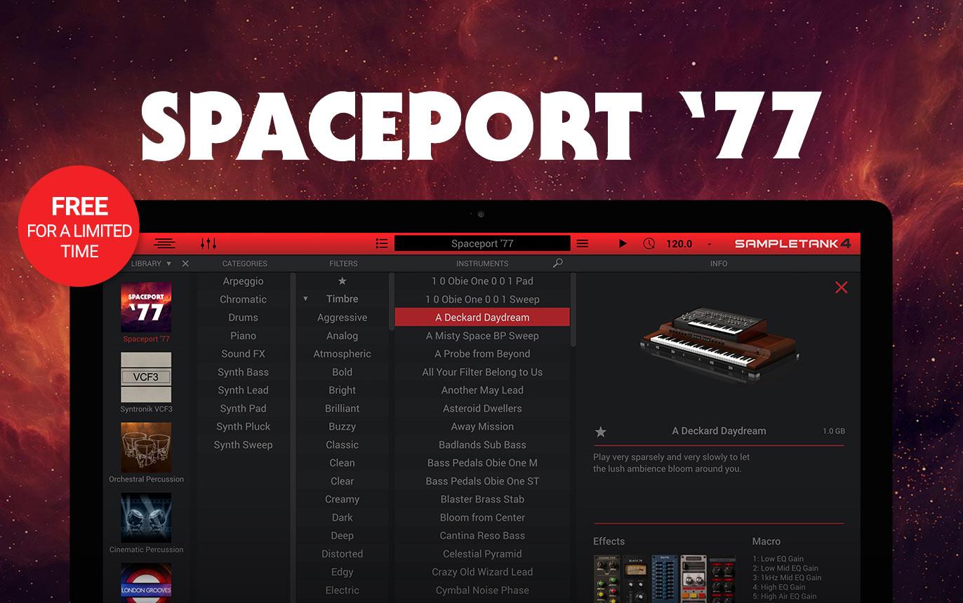 SpacePort '77 for SampleTank 4