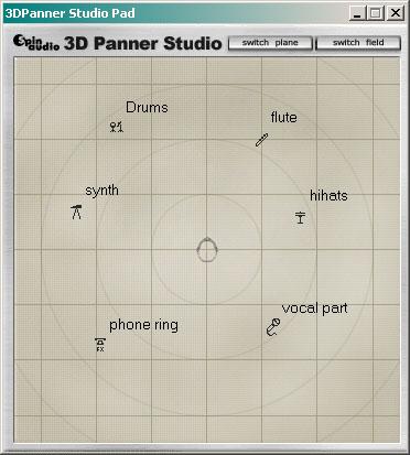 3D Panner Studio