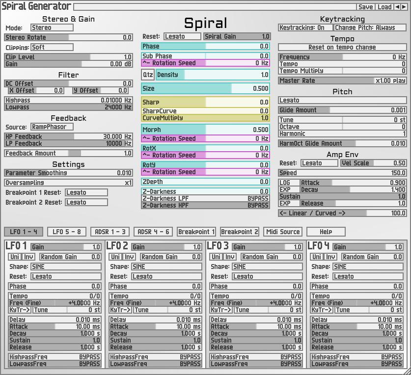 Spiral Generator