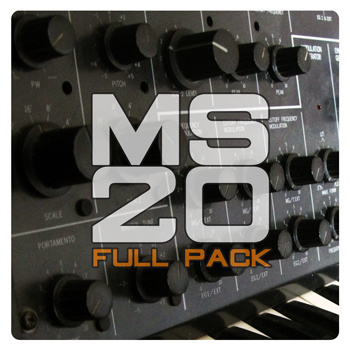 MS20 drums [FULL PACK]