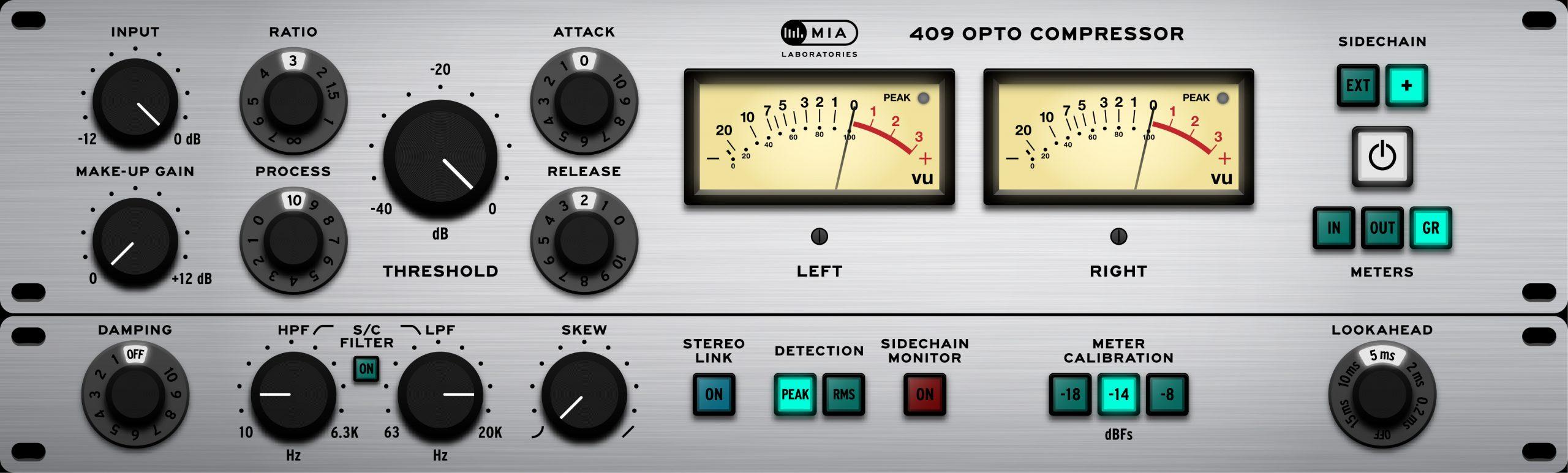 409 Opto Compressor