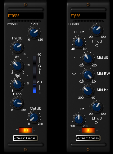 500-Series Channel Dynamics and EQ Bundle