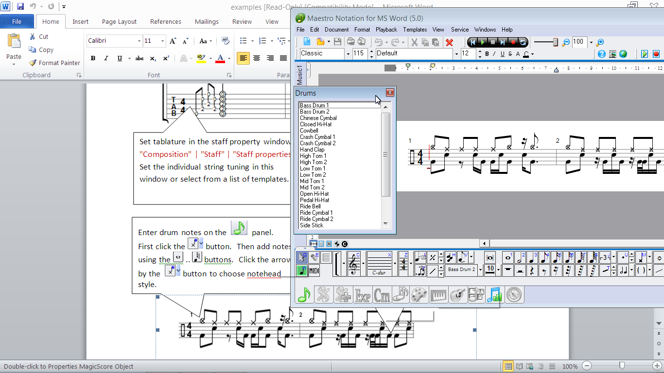 Music Notes In Word Zrom