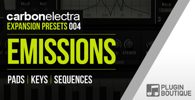 Plugin Boutique Carbon Electra Expansion Pack: Emissions