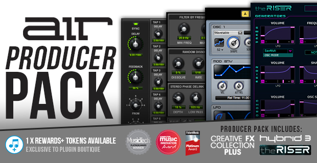 Plugin Boutique Exclusive Air Music Producer Pack Free Vault Expansion