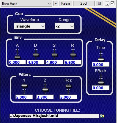 Simple Microtonal Synth, 64-bit