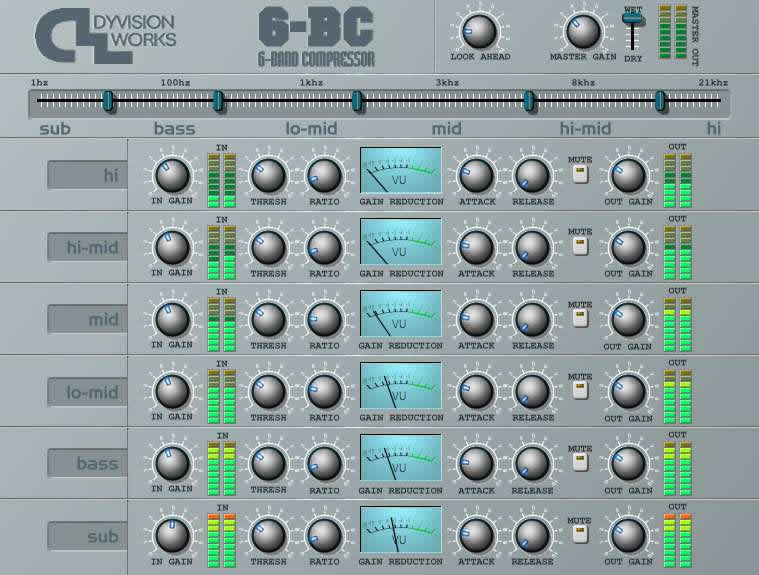 6-BC 6 Band Compressor