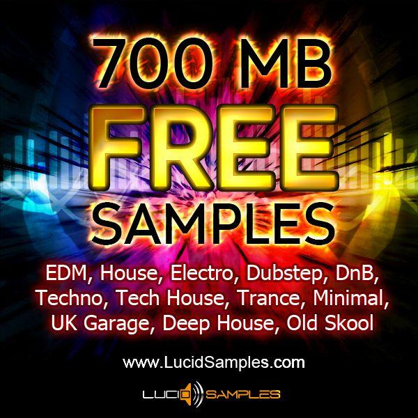 700 MB Free Samples Loops Dj Music Production Tools
