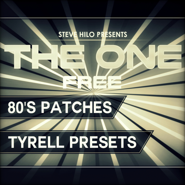 KVR: THE ONE: 80's Patches [Free] by THE ONE-Series