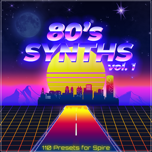 '80s Synths Volume 1' for Spire