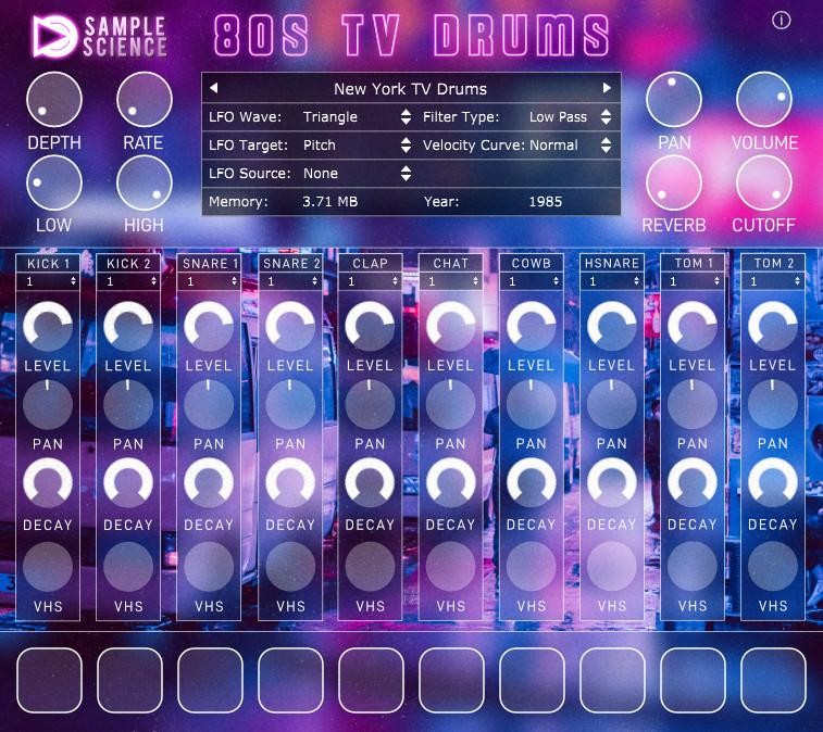 80s TV Drums